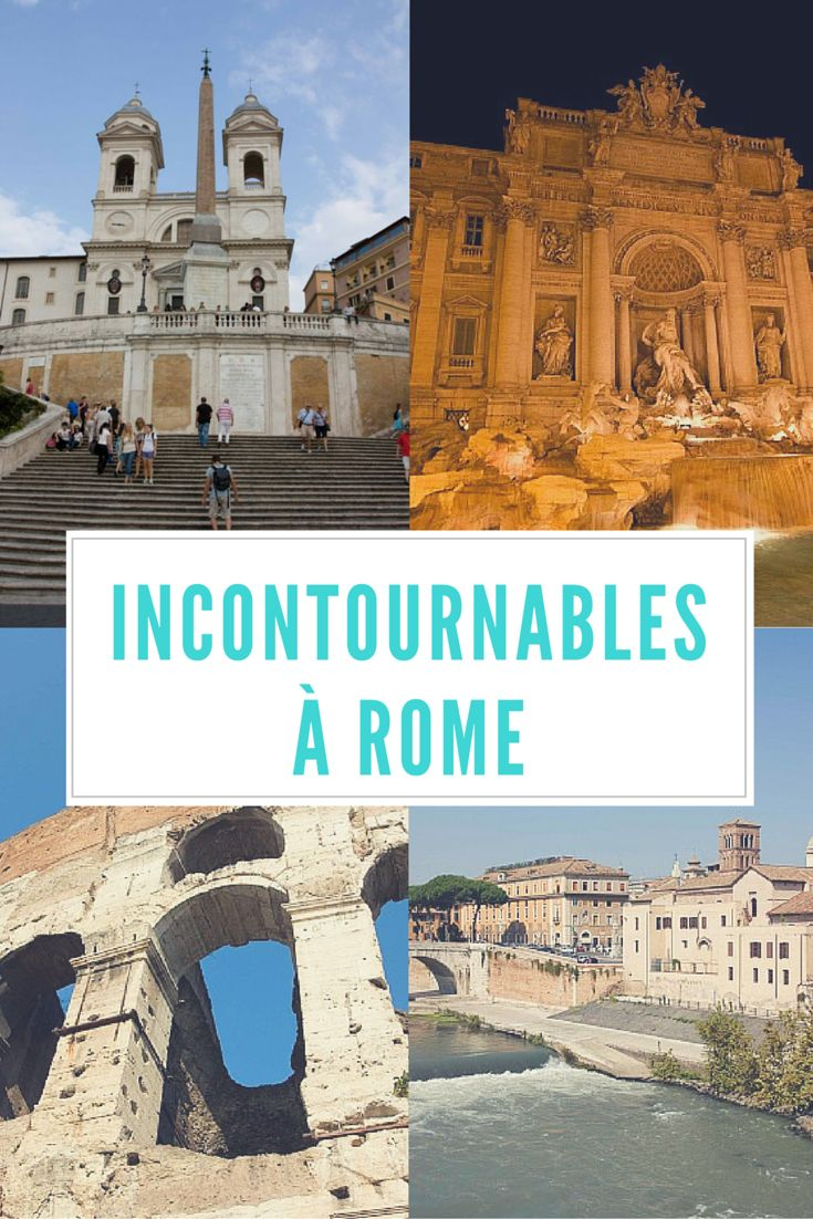 Top 5 des attraits incontournables à voir à Rome: le Colisée bien sûr, mais bien d'autres choses aussi!