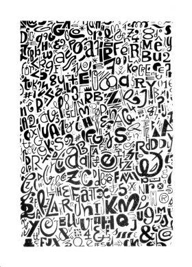 Typesetting Atelier Kouglof Sérigraphie