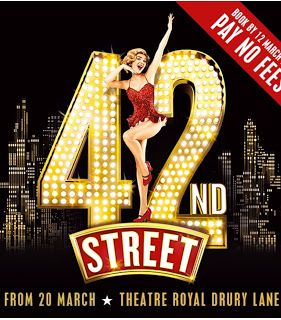 SilverStrivers: 42nd Street Drury Lane