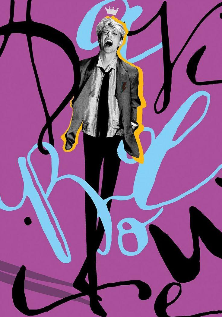Постеры David Bowie от Selman Hosgör