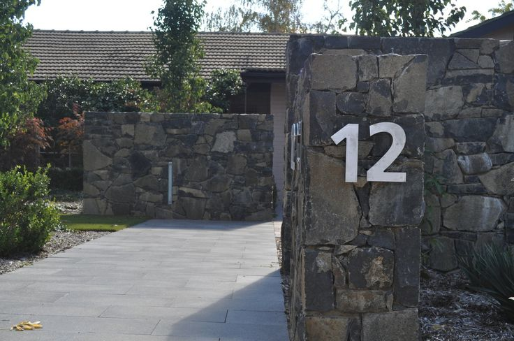 Love this entry built from Rock Flat Basalt