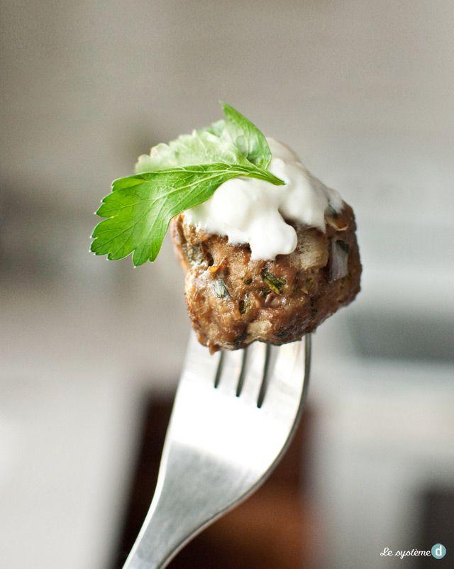 Ma recette de boulettes à la libanaise