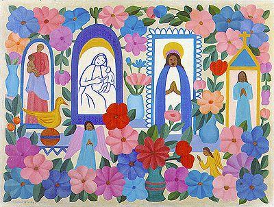 Religião brasileira III, 1964 / Tarsila do Amaral