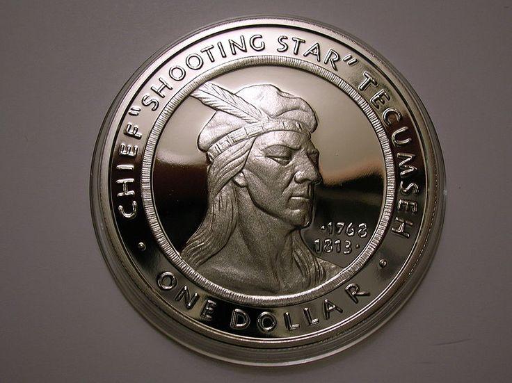 Tecumseh commemorative Shawnee Nation dollar