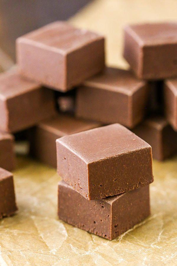 3 Ingredient Chocolate Fudge Recipe Perfect For Gifts Recipe Fudge Recipes Chocolate Fudge Recipes Easy Chocolate Fudge