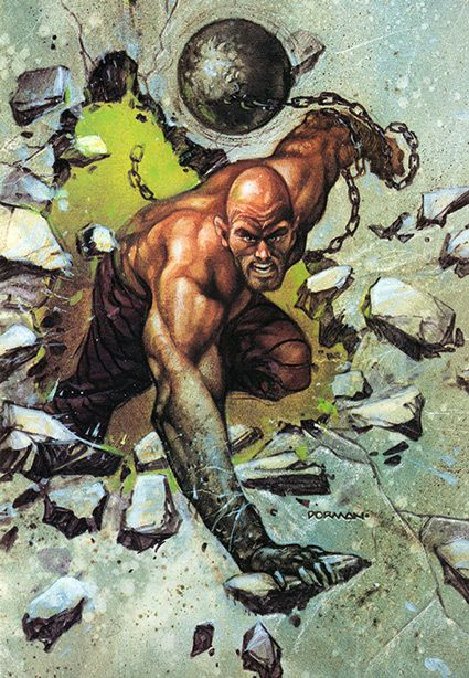 Absorbing Man. I have an hour or two, so let's do some rescans of old pictures to fit them to our current quality standards.