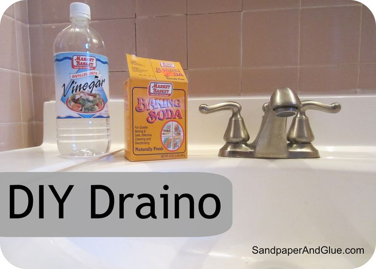 DIY Draino- better for the environment, kid & pet safe!
