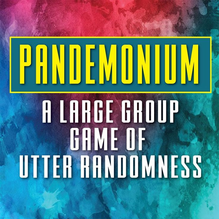 Pandemonium: A Large Group Game of Utter Randomness