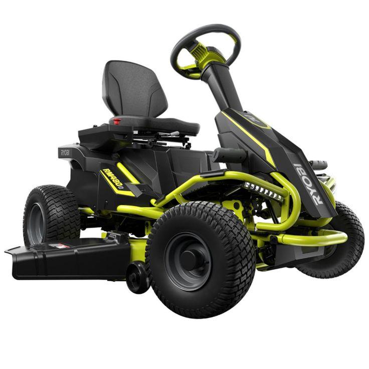 RM480e Electric Riding Lawn Mower