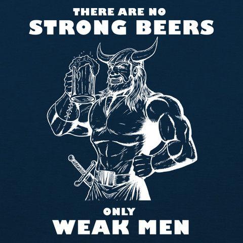 Weak Men MENS T-Shirt by Craft Brewed Clothing