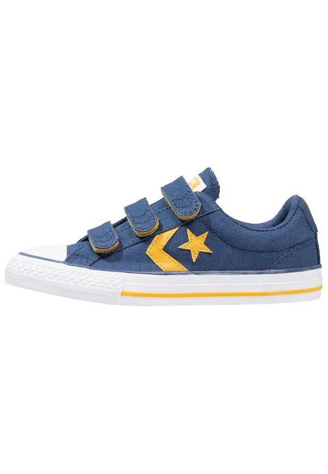 Schoenen Converse STAR PLAYER EV 3V OX INFANT JUNIOR - Sneakers laag - navy/mineral yellow/white Blauw: € 39,95 Bij Zalando (op 1/03/18). Gratis verzending & retournering, geen minimum bestelwaarde en 100 dagen retourrecht!