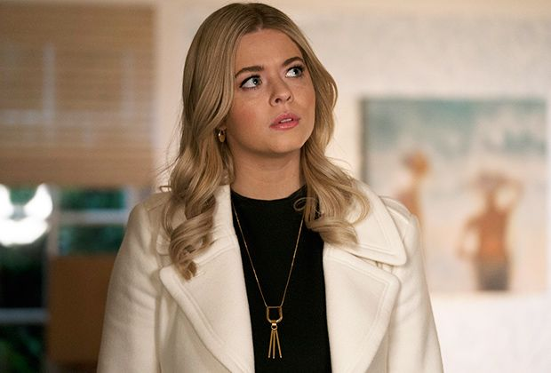 Sasha Pieterse As Alison Dilaurentis The Perfectionists Pretty