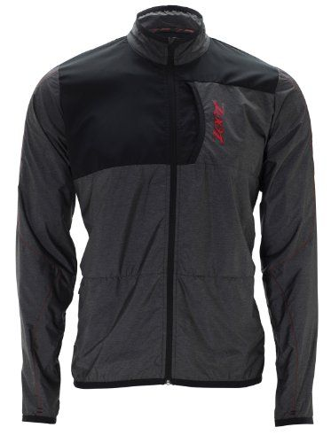 ZOOT SPORTS Men's Performance Etherwind Running Jacket, Black/Zoot Red, Medium. 50+ UPF Protection. ETHERwind provides wind and water protection. Make any day a training day with intelligent fabrics, uniquely woven knits and durable construction that provide the ultimate protection from the elements. Reflectivity.