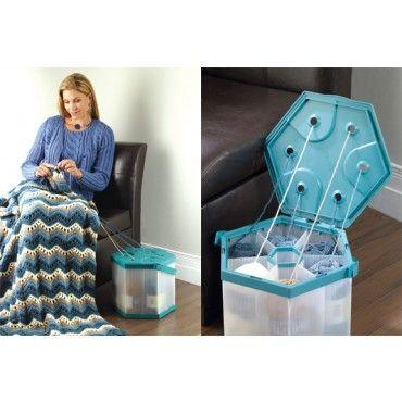 Mary Maxim - Portable Yarn Organizer - Knit & Crochet