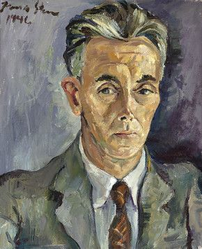 Portrait of Governor General Pierre Ryckmans by Irma Stern