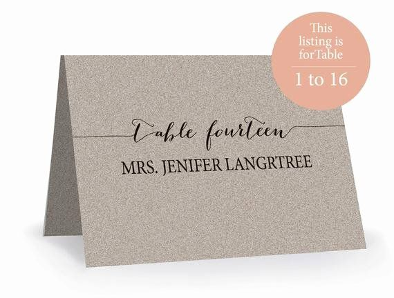 Place Cards Template 6 Per Sheet Unique Wedding Place Card Template Printable Editabl Card Templates Printable Wedding Place Card Templates Place Card Template