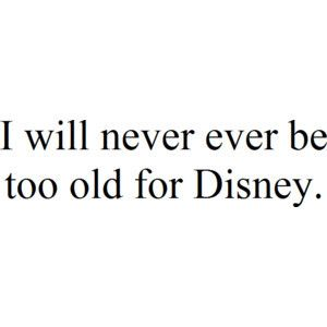 Never.