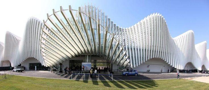 Stazione Alta Velocità Reggio Emilia design by Calatrava