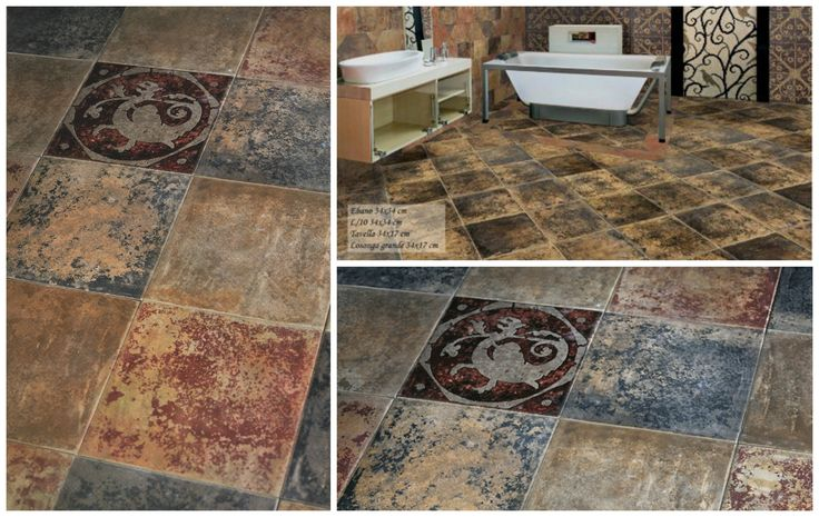 Floor Tiles Rustic Legni