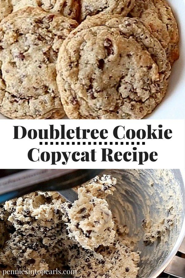 The BEST Doubletree Cookie Recipe I have ever tasted! Easy to make and is now my all time favorite Doubletree Cookie Copycat Recipe and best chocolate chip cookie recipe!