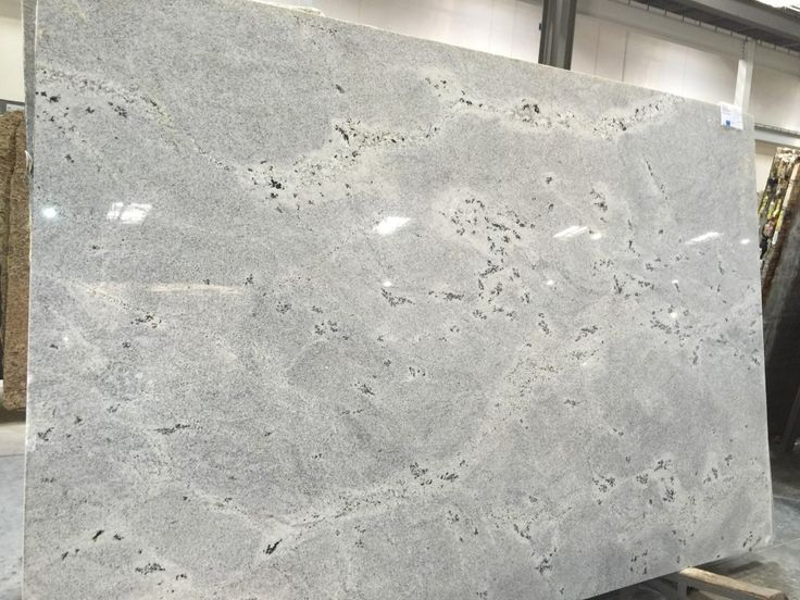 Himalayan White Granite a popular choice within the white and grays  White Kitchen countertops