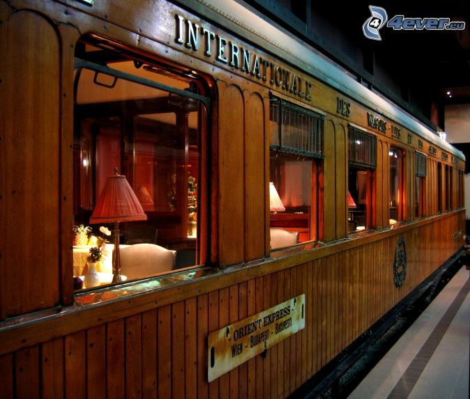 Orient Express, dining car, railway station ~Repinned Via David Holmes