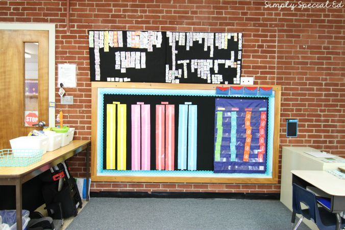 Autism Classroom Setup! Check out these DIY schedule boards!