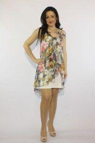 Αμάνικο φόρεμα απο μουσελίνα ανοιξιάτικο Floral. Στο εσωτερικό του έχει βαμβακερή φόδρα ενώ στην μία τιράντα έχει διακοσμητικό φιόγκο. Σε συνδυασμό χρωμάτων μπλέ κίτρινο και φούξια. Εντυπωσιακό φόρεμα για εμφανίσεις που θα γοητεύσουν http://www.noizeshop.gr/%CF%81%CE%BF%CF%8D%CF%87%CE%B1/%CF%86%CE%BF%CF%81%CE%AD%CE%BC%CE%B1%CF%84%CE%B1/%CF%86%CF%8C%CF%81%CE%B5%CE%BC%CE%B1-%CE%B1%CE%BD%CE%BF%CE%B9%CE%BE%CE%B9%CE%AC%CF%84%CE%B9%CE%BA%CE%BF-floral-2946-info...................32 euro
