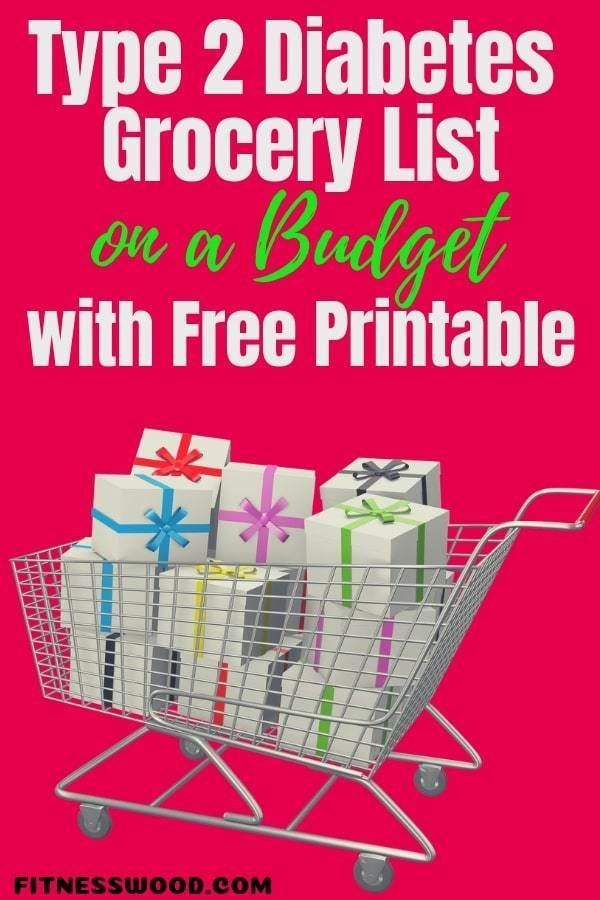 Type 2 Diabetes Grocery List On A Budget With Free