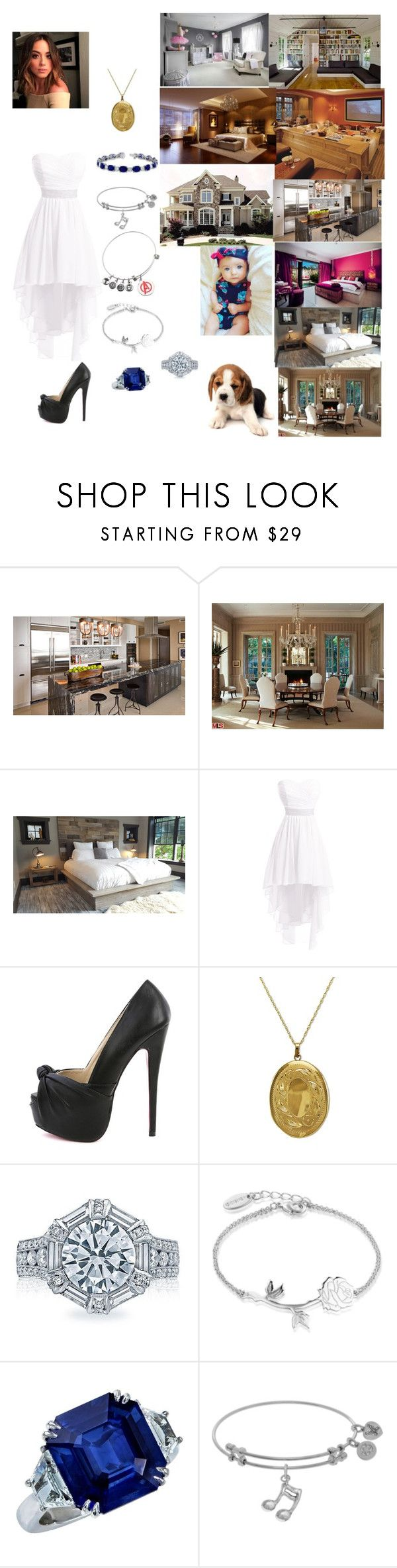"""📖Belle📖4x23 Damon shows Belle & Nikki their new house after the wedding (Vampire Diaries)"" by serenamarie273 ❤ liked on Polyvore featuring Home Source International, Lord & Taylor, Tacori, Disney and Marvel"