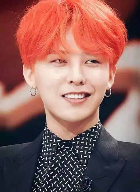 Kpop Memes And Pictures 8 G Dragon With Red Hair Kwon Ji Yong