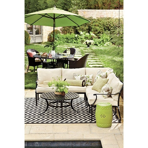 Outdoor Rug European Inspired Home Furnishings Ballard Designs