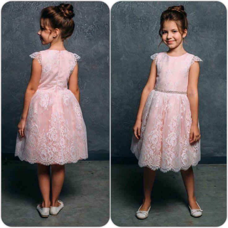 """Купить Новогоднее платье с кружевом для девочки """"Фея"""" (109) - платье детское утренник, рюши ксюши"""