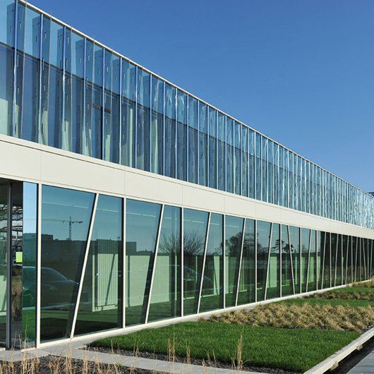 Curtain Walling - GEODE /  Technal