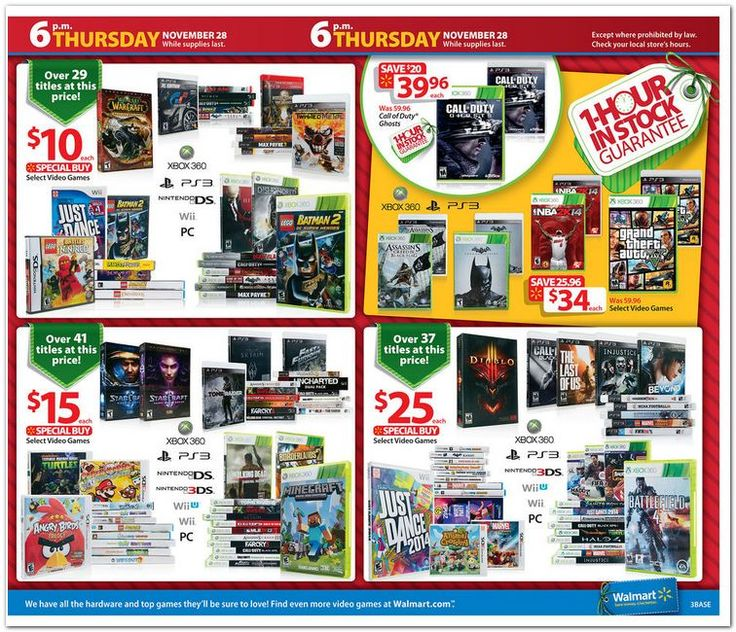 Walmart Black Friday Flyer 2013 Page 3