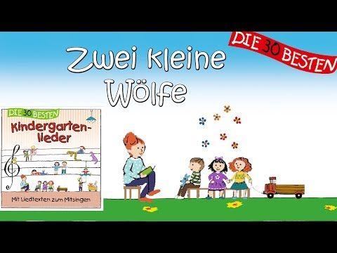 Zwei kleine Wölfe - Die besten Kindergartenlieder    Kinderlieder - YouTube