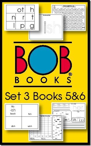 Free BOB Books Printables Set 3 Books 5 and 6 from Royal Baloo