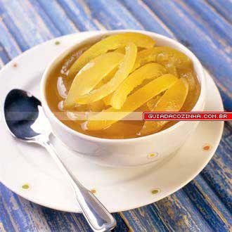 Receita de Compota de casca de laranja