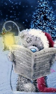 Merry Christmas - Tatty Teddy #sendateddy #tattyteddy #christmas