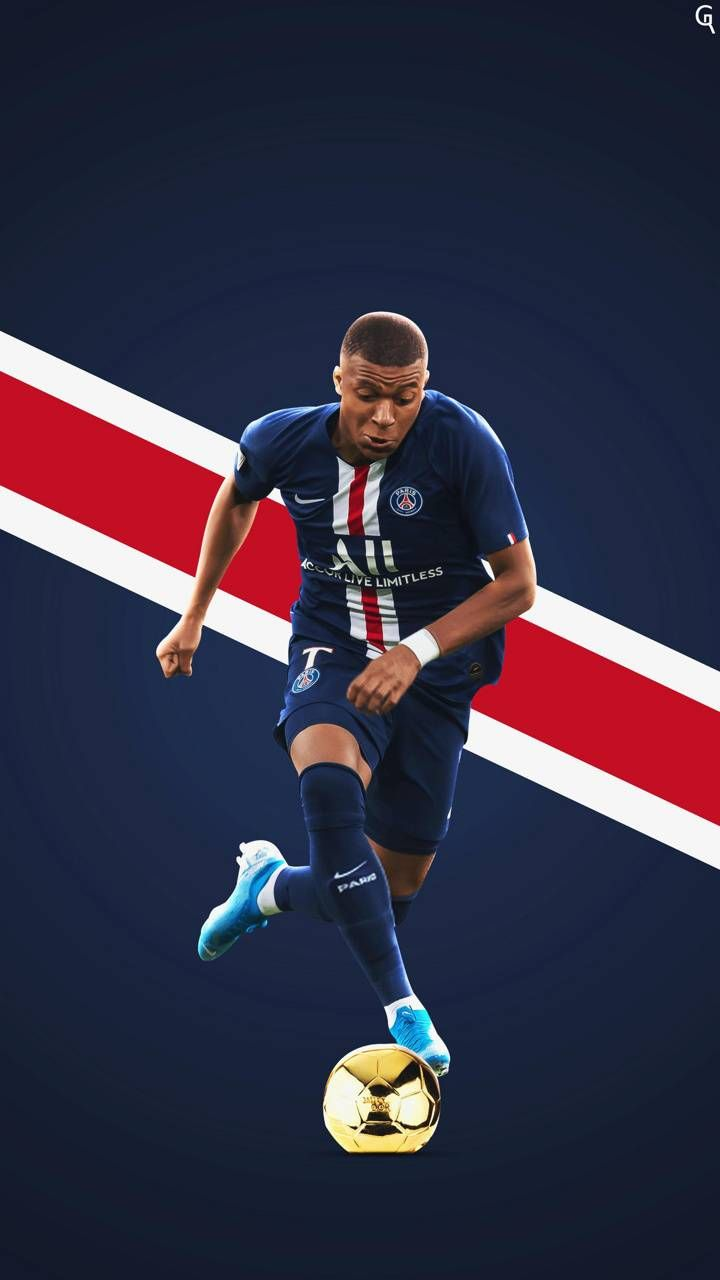 Download Kylian Mbappe Wallpaper By Elnaztajaddod 26 Free On Zedge Now Browse Millions Of Popular Football Wallpa Football Wallpaper Ronaldo Football Psg