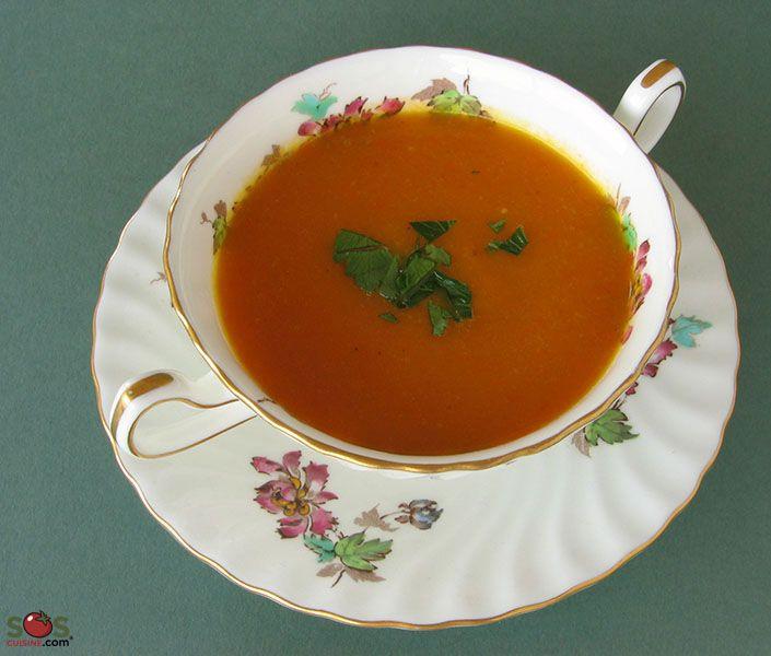 SOSCuisine: Potage aux carottes parfumé au cari