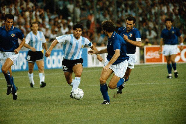 1/2: Argentina - Italy 1:1, pen. 4:3
