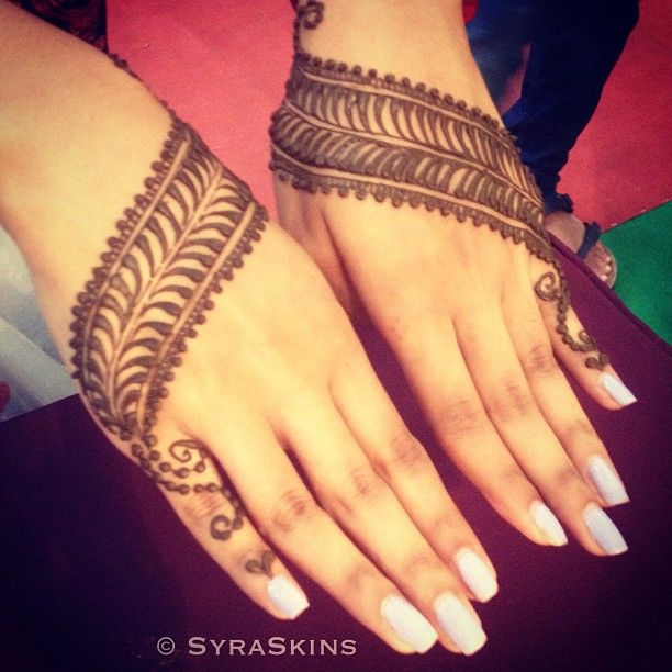 Unique mehndi/henna design