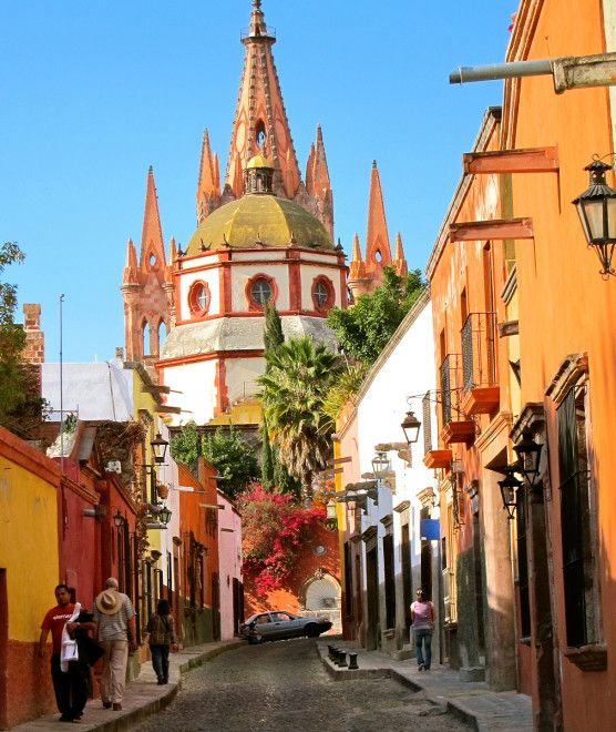 San Miguel de Allende, Mexico. One of my all time favorite cities.