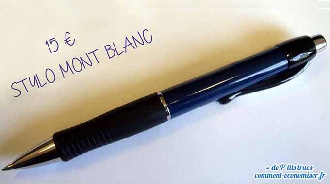 stylo mont blanc pas cher