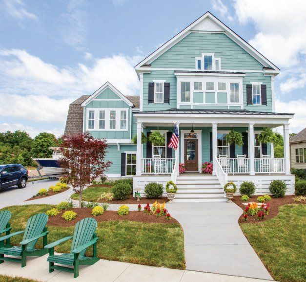 The Little Big House - Hampton Roads Magazine - July-August 2012 - Virginia Beach, VA via Stephen Alexander Homes