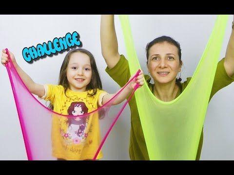 Dobişko TV ve Öykü Slime Challenge KAPIŞMA Hangisi Daha Başarılı