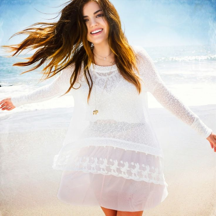 Lucy Hale - Hollister Fall 2014