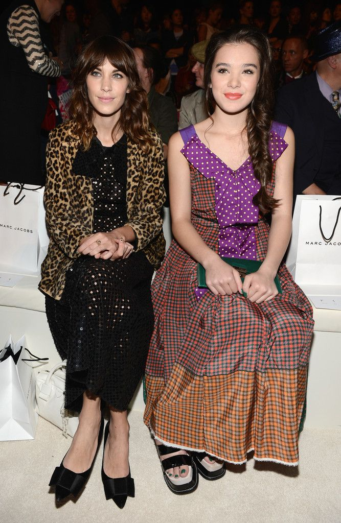 With Hailee Steinfeld // Marc Jacobs Spring 2013 Mercedes-Benz Fashion Week