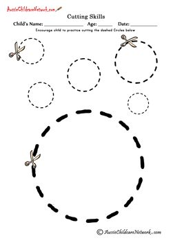 Cirkels knippen
